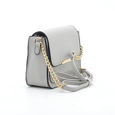 Жіноча сумка через плече сіра H3956 сіра, фото 2