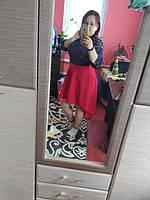 Платье шлейф и гипюром фото от нашего клиента