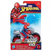 Hasbro Набор Человек-паук на мотоцикле с пусковым устройством