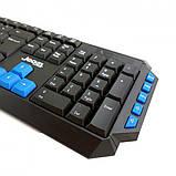Комплект беспроводная компьютерная игровая клавиатура и мышь Jedel WS880, фото 2