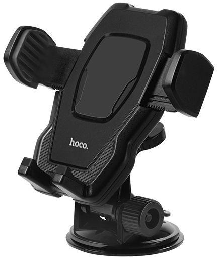 Автодержатель Hoco CA31 Cool Run Suction Cup Black