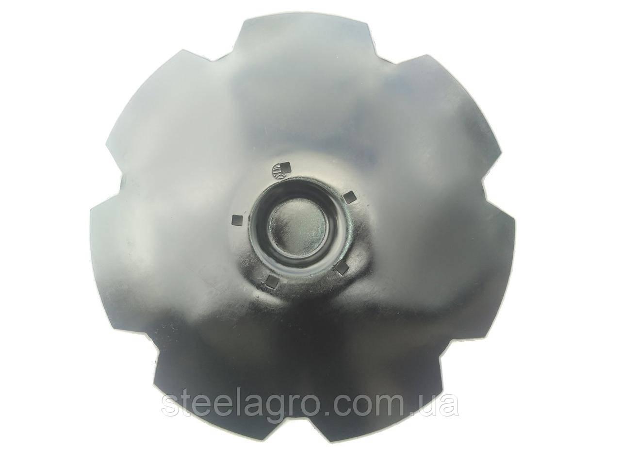 Диск борони Lemken Gigant 10S, Gigant 12S D-620 s-6мм, 5 отв, кв13мм ст30Mnb5 Лемкен Гігант (34910034)