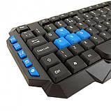 Комплект беспроводная компьютерная игровая клавиатура и мышь Jedel WS880, фото 3