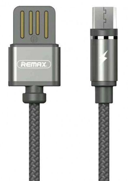 Кабель USB Remax Gravity Magnetic Micro USB Cable Black/Grey (RC-095m)