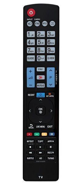 Пульт для телевизора LG 42LB653V (305128)