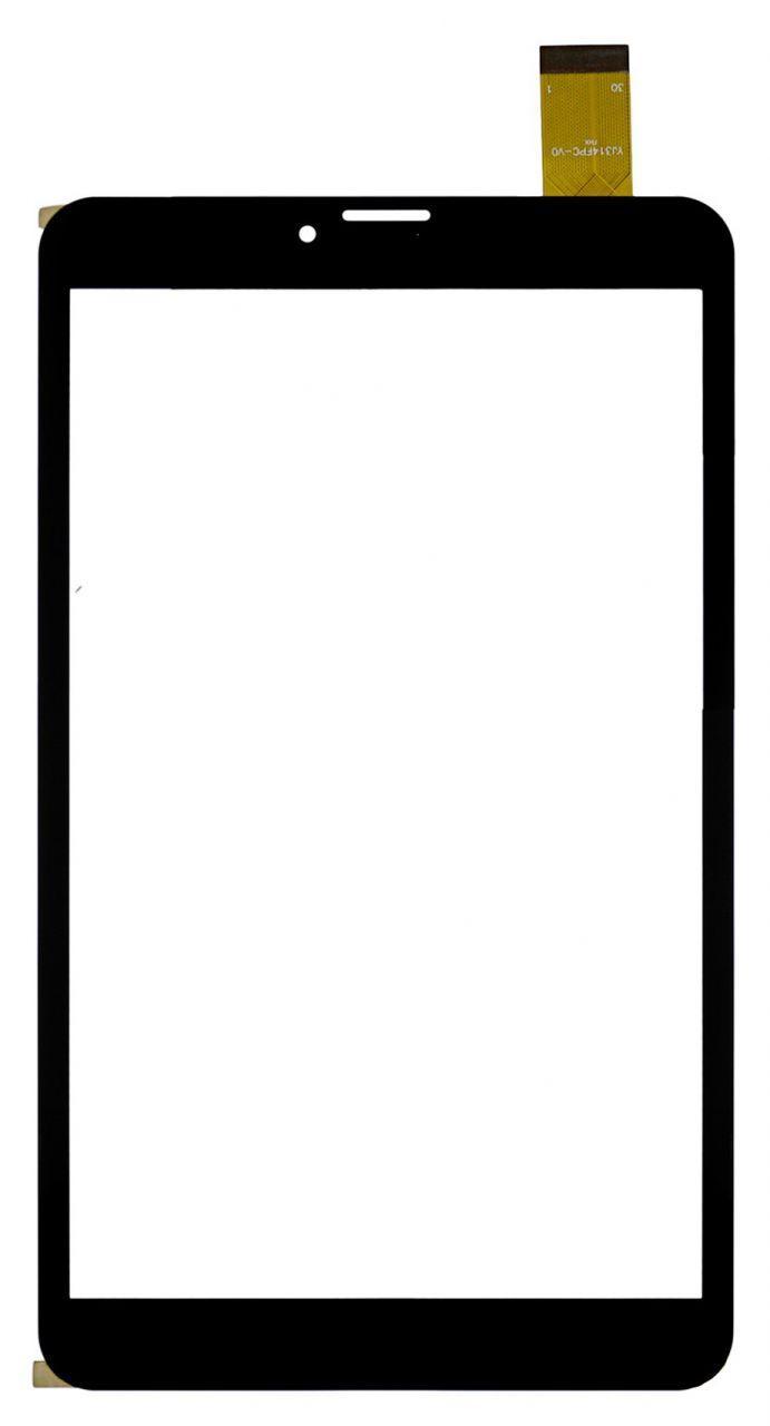 Сенсор (тачскрин) для планшета Matrix 818 3G (204x119, #YJ314FPC-V1, YJ314FPC-V0, ZJ-80038B, GT80PG190) Black
