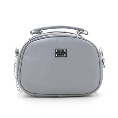 Клатч W-66096 серый, фото 2