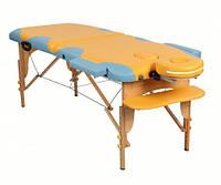 Массажный стол ASF Miracle plus yellow/blue