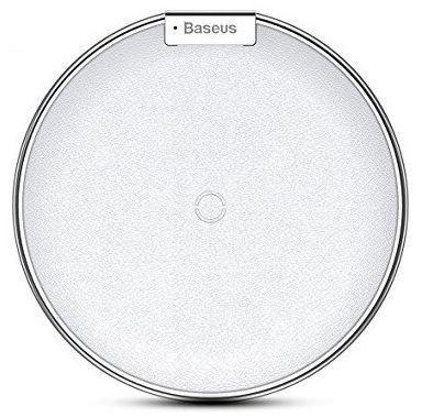 Беспроводная зарядка Baseus iPhone X Desktop Wireless Charger Silver (WXIX-0S)