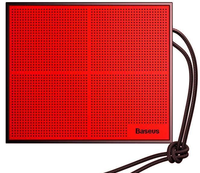 Колонки акустические Baseus Encok E05 Black/Red