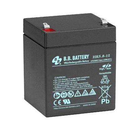 Аккумуляторная батарея BB Battery 12V 5.8Ah (HR5.8-12/T1)