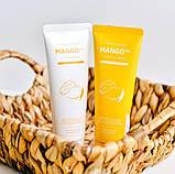 Шампунь с экстрактом манго для сухих волос EVAS Pedison Institut-beaute Mango Rich Protein Hair Shampoo, 100мл, фото 4