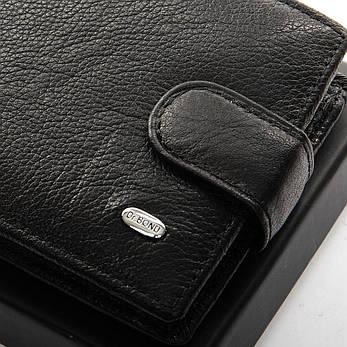 Мужской кошелек Classic кожа DR. BOND M14 черный, фото 2