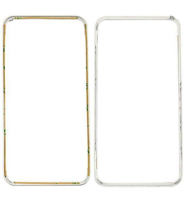 Передняя панель корпуса (рамка дисплея) Apple iPhone 4 White