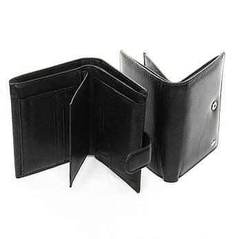 Чоловічий гаманець Classic шкіра DR. BOND M25-1 чорний, фото 2