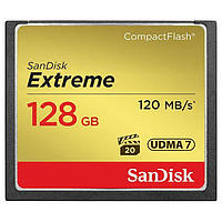Карта памяти SanDisk 128GB CompactFlash (SDCFXSB-128G-G46)