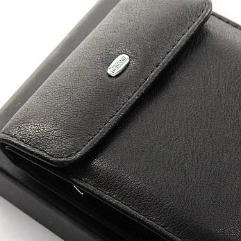Чоловічий гаманець Classic шкіра DR. BOND M55 чорний, фото 2