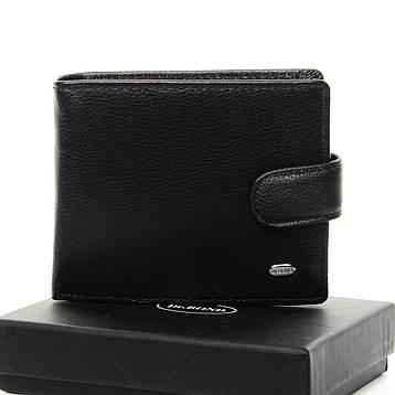 Чоловічий гаманець Classic шкіра DR. BOND M60-1 чорний, фото 2