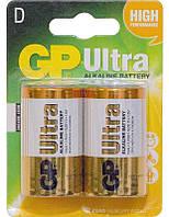 Батарейки GP D (LR20) Ultra 2шт (13AU-U2)