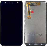 Дисплей (экран) для телефона Samsung Galaxy J4 Plus J415F + Touchscreen (Super AMOLED, original) Black
