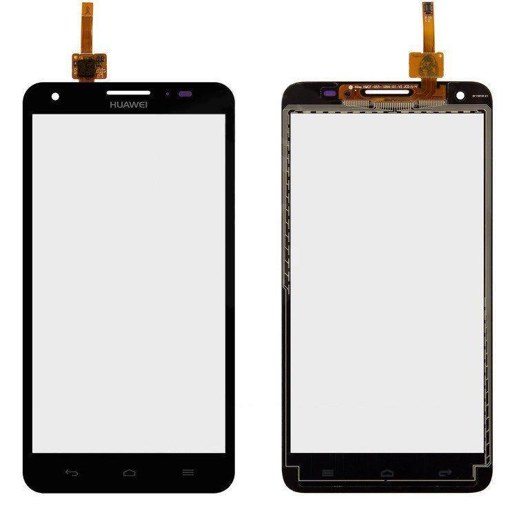 Сенсор (тачскрин) Huawei Honor 3X G750, G750-U10 (copy) Black