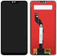 Дисплей (экран) для телефона Xiaomi Mi 8 Lite + Touchscreen (original) Black