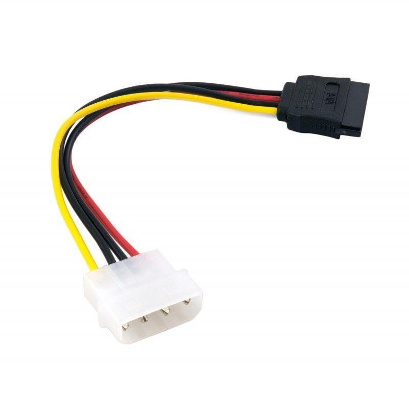 Кабель (шлейф) ExtraDigital Serial ATA Power Cable, 18 AWG, 0.16m