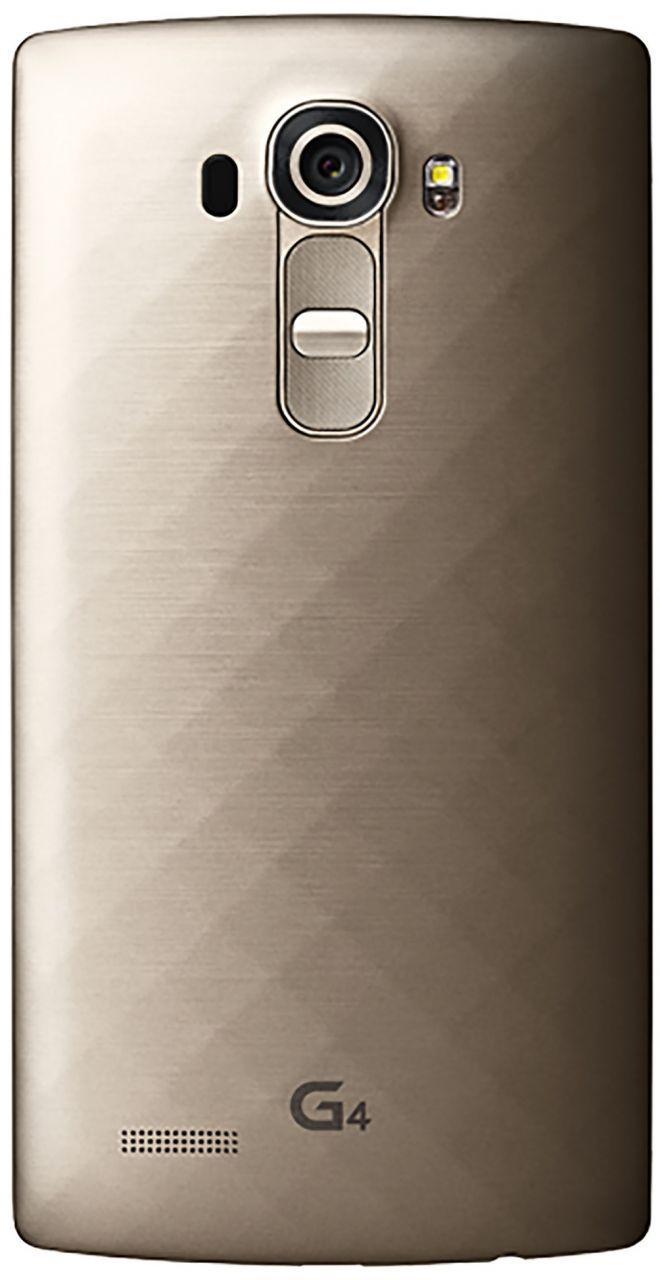 Задняя крышка корпуса LG G4 F500 / G4 H810 / G4 H811 / G4 H815 / G4 H818 / G4 LS991 / G4 VS986 Gold