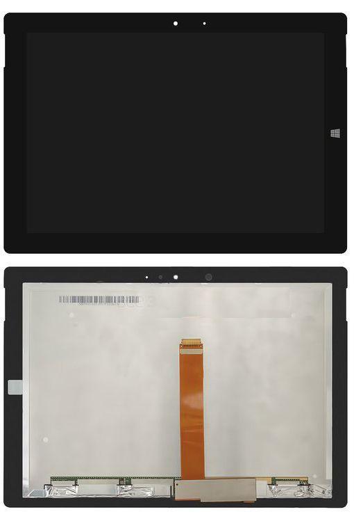 Дисплей для планшета Microsoft Surface 3 1657 (39pin) + Touchscreen Black