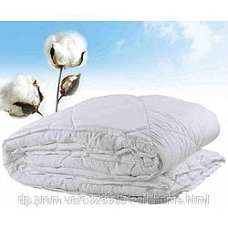Летнее одеяло двухстороннее микрофибра наполнитель Cotton (цвета разные) - 175х210