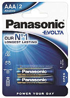 Батарейки Panasonic AAA (R03) Evolta 2шт (LR03EGE/2BP)