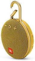 Колонки акустические JBL Clip 3 Mustard Yellow, фото 1