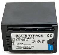 Аккумулятор для видеокамеры Panasonic VW-VBD78 (7800 mAh) BDP2694 ExtraDigital, фото 1
