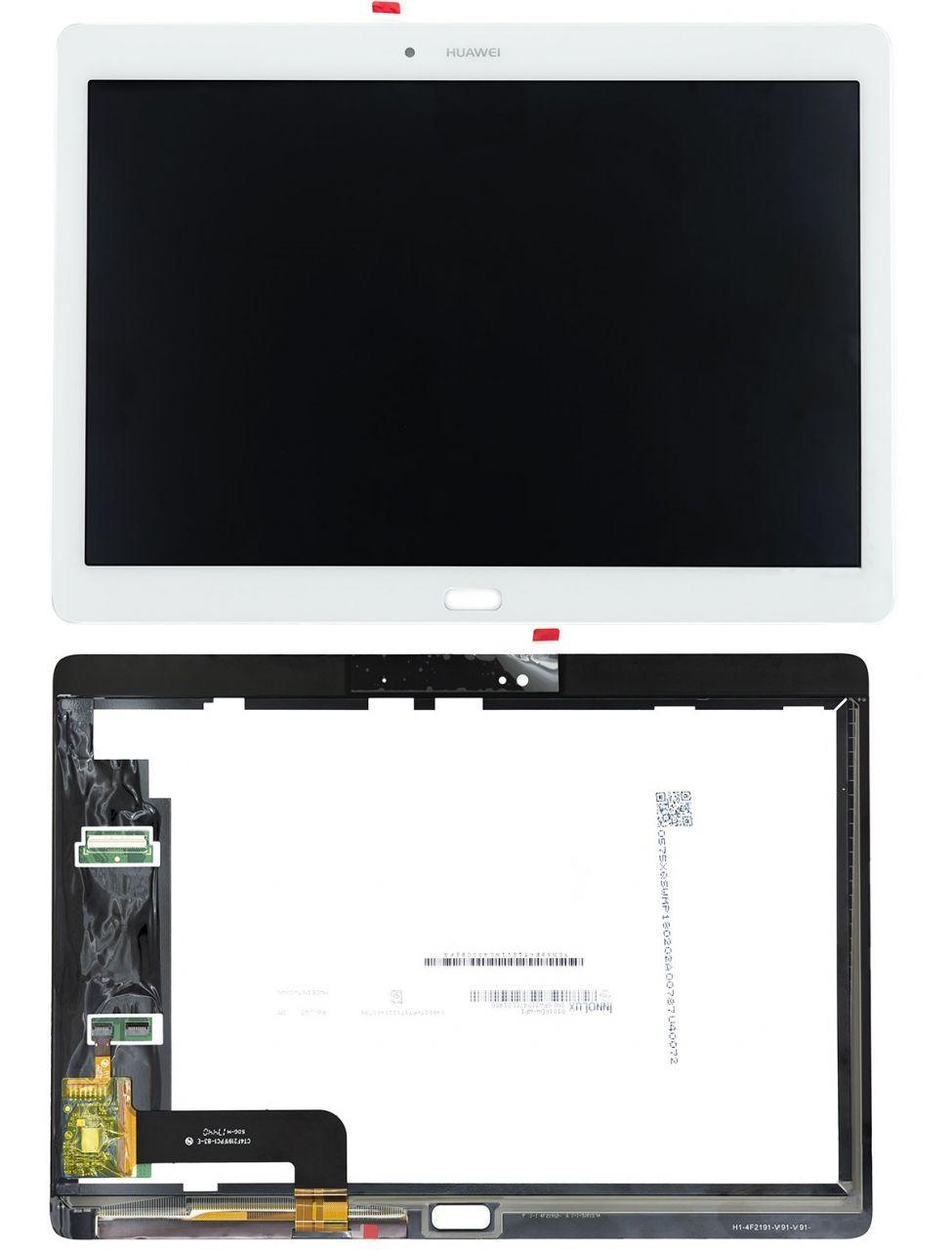 Дисплей для планшета Huawei MediaPad M2 10 + Touchscreen White