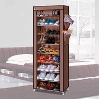 Стеллаж для хранения обуви Combination Shoe Frame 60X30X160 тканевый шкаф для обуви