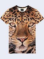 3D футболка Морда гепарда (Размер: M(48), Фасон: Мужской)