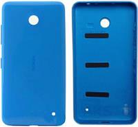 Задняя крышка корпуса Nokia Lumia 630 (RM-976) / 635 (RM-975) / 636 (RM-1027) / 638 Dual Sim (RM-978) Blue