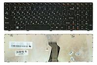 Клавиатура для ноутбука Lenovo IdeaPad G580 G585 Z580 Z585, черная/серая
