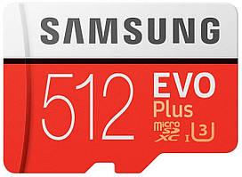 Карта памяти Samsung 512GB Evo Plus UHS-І U3 (MB-MC512GA/RU)