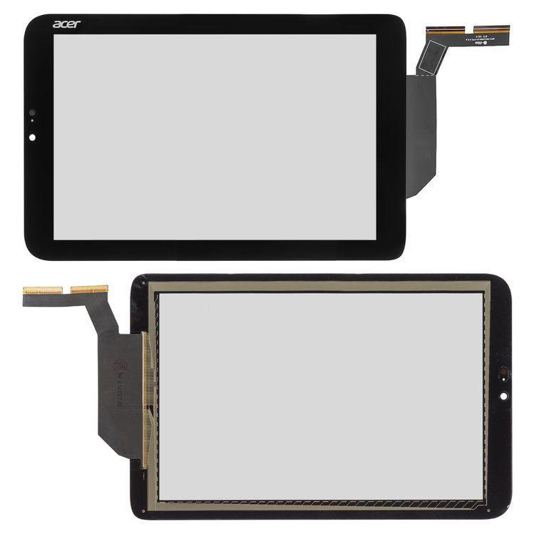Сенсор (тачскрин) Acer Iconia Tab W3-810 Black