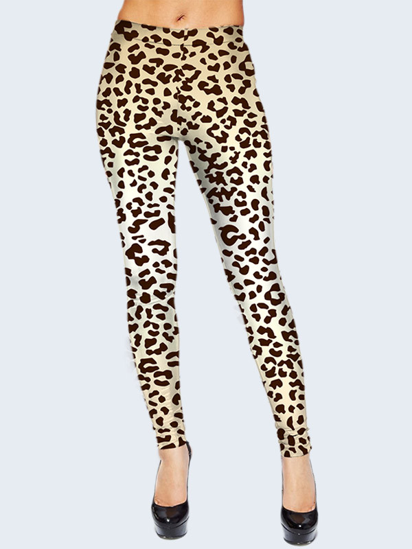 Леггинсы Пятна леопарда (Размер: S/M(44-46), Фасон: Женский)