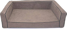 Диван Лори Мираж №1 30 х 40 х 15 см Коричневый