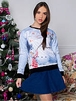 Свитшот Merry Christmas (Размер: M(46), Фасон: Женский)