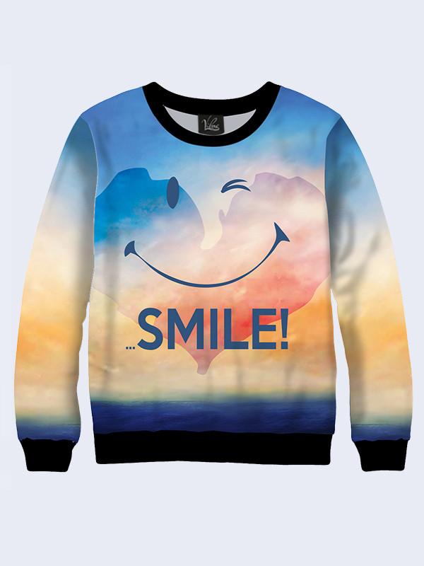 Свитшот Smile (Размер: XS(42), Фасон: Женский)