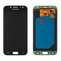 Дисплей (экран) для телефона Samsung Galaxy J5 J530 2017, J530F + Touchscreen (OLED, high copy) Black