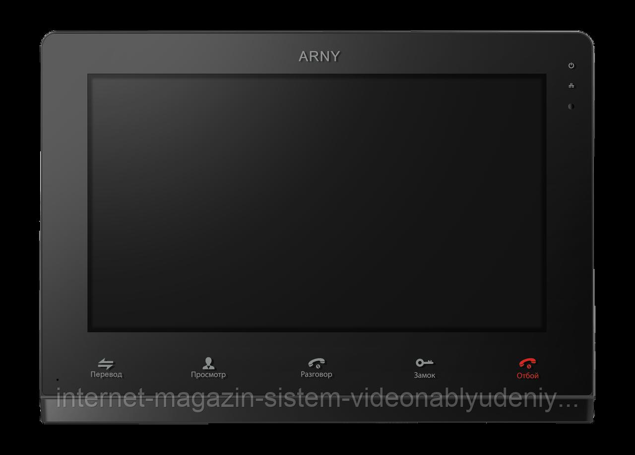 Видеодомофон Arny AVD-1025-AHD Черный