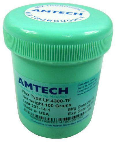 Флюс-гель  LF-4300-TF 100гр средней вязкости  в пластиковой емкости Amtech