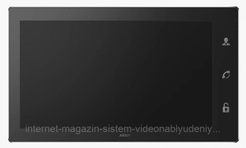 Видеодомофон Arny AVD-1040 WiFi  с регистратором Черный (arny-000128)