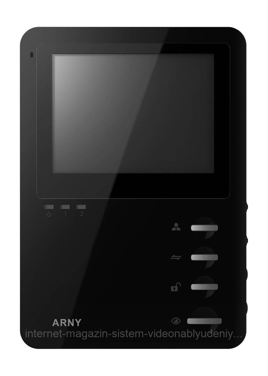 Видеодомофон Arny AVD-410M Черный