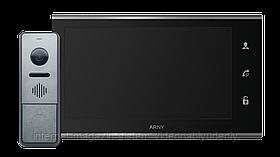 Комплект видеодомофона Arny AVD-7330 WiFi IPS 7'' Черный / Графит